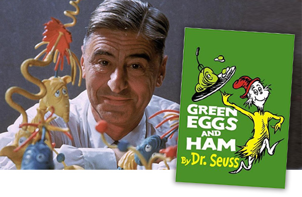 Dr. Seuss Green Eggs and Hame